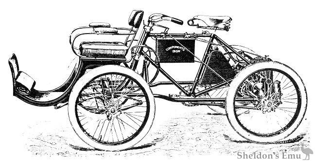 Gough Components Quadricycle