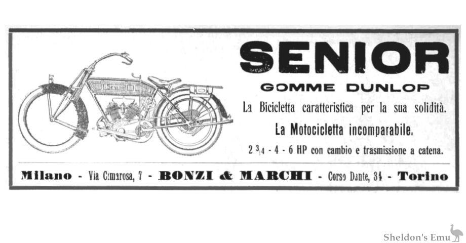 Senior 1914 Motocicletta