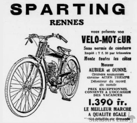 Sparting 1932 Rennes