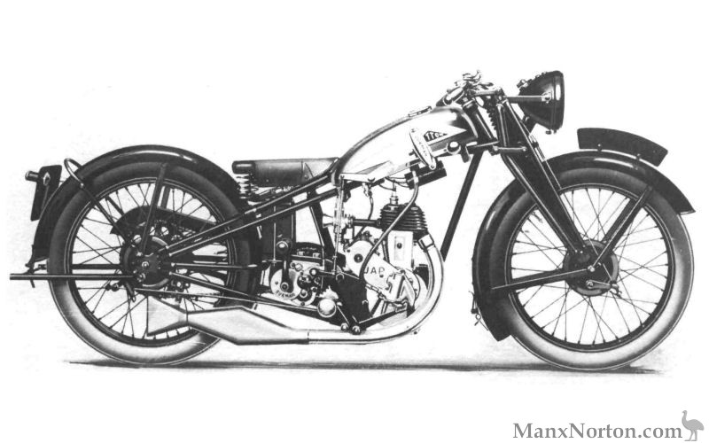Cotton 148cc 1932 with JAP Twostroke engine