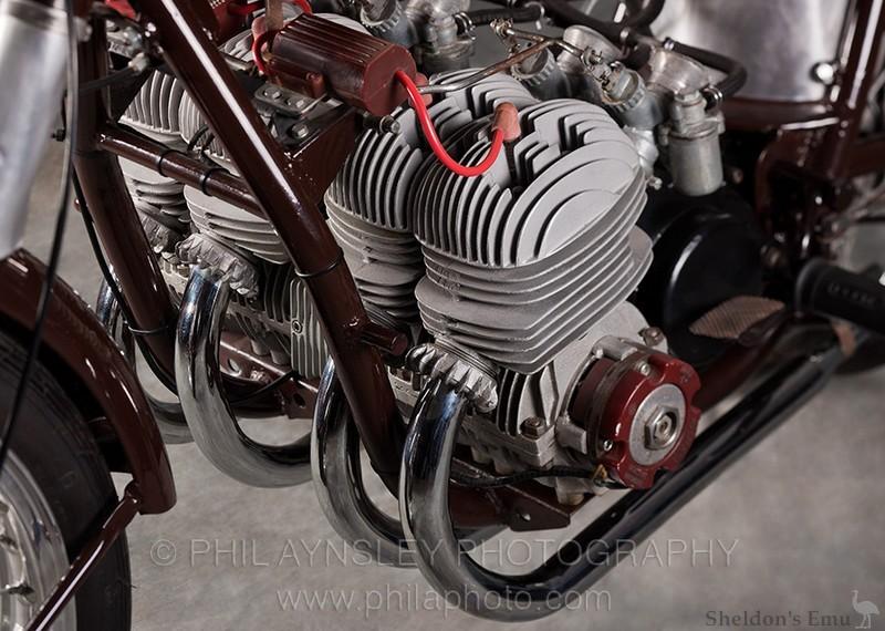 Derbi 1954 Two-stroke 4 Cylinder Engine