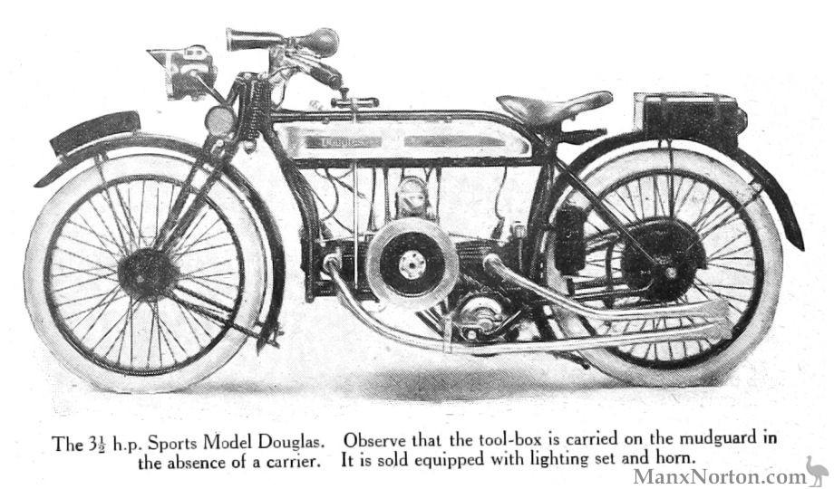 Douglas Motorcycles 1922