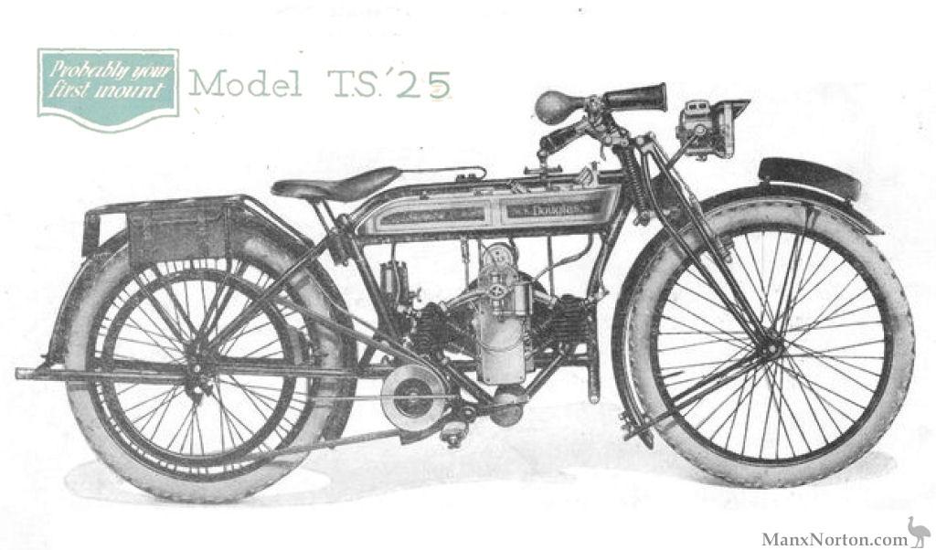 Douglas TS 348cc 1925