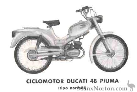 Ducati 48 Piuma Ciclomotor