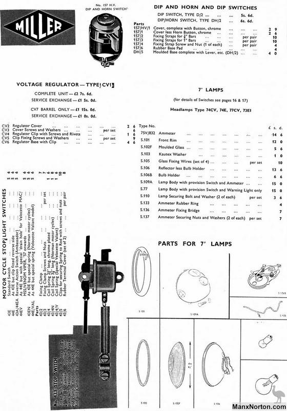Miller 1962 Catalog Voltage Regulator