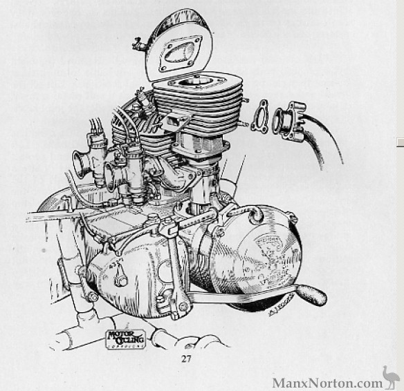 Excelsior Talisman Twin Engine Diagram