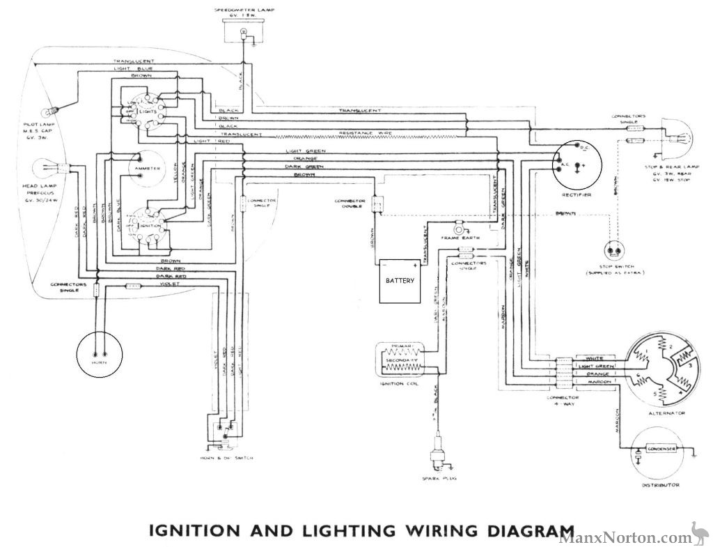 Simplified Wiring Diagram Xs850 Detailed Diagrams Yamaha Dt400 Auto Electrical Home 1981
