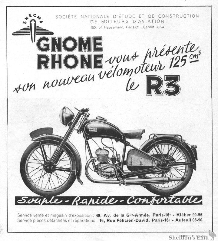 Gnome & Rhone 1948 R3 125cc