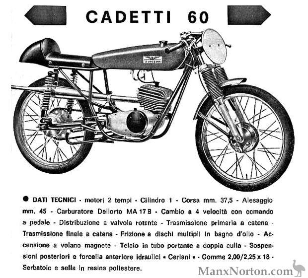 Guazzoni Cadetti 60 Advertisement