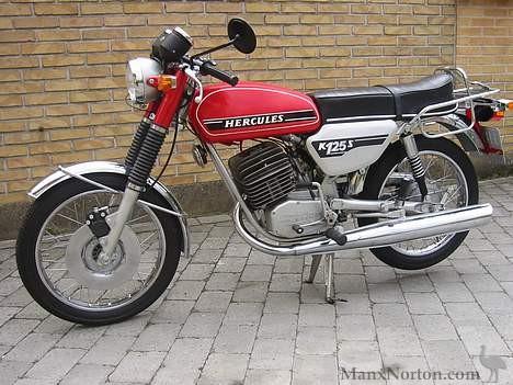 Hercules Motorcycle