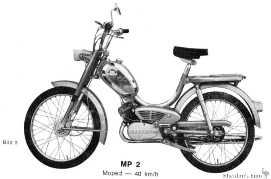Hercules 1973 MP2 Moped