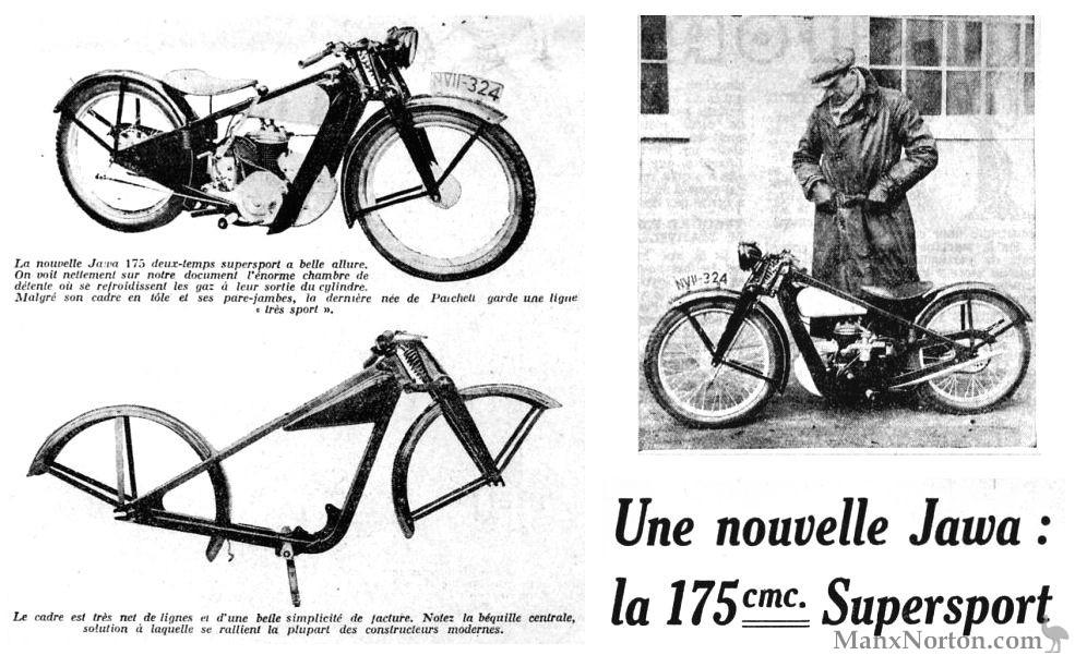 Jawa 1932 175cc Super Sport