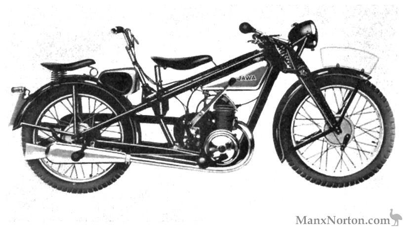 Jawa 1932 Villiers