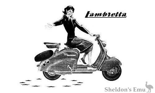 Lambretta Innocenti illustration
