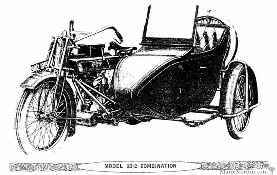 Matchless 1915 Model 8B/2 Combination