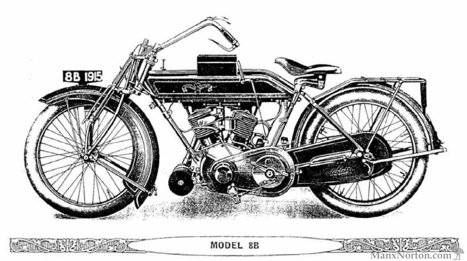 Matchless 1915 Model 8B V-Twin