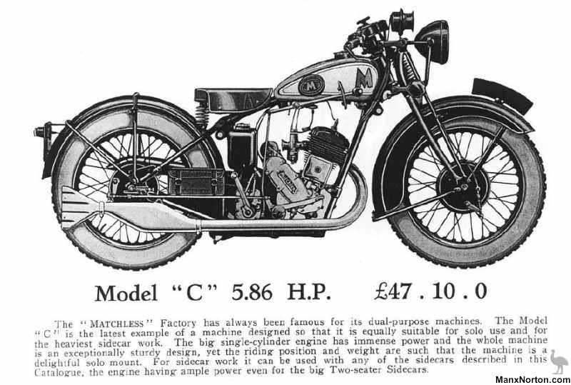 Matchless 1931 Model C