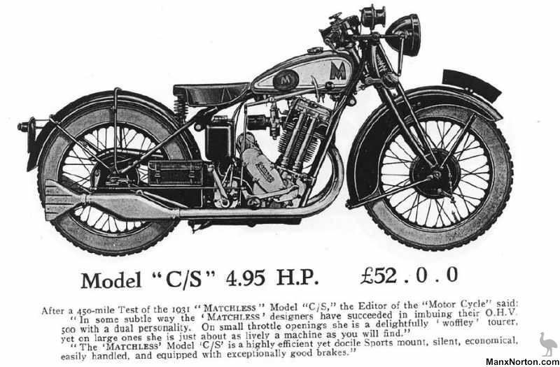 Matchless 1931 Model C/S