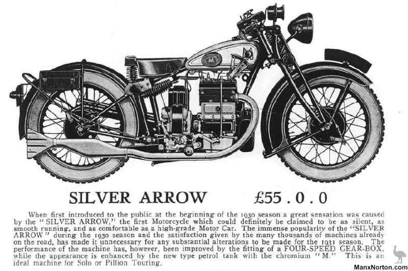 Matchless 1931 Silver Arrow