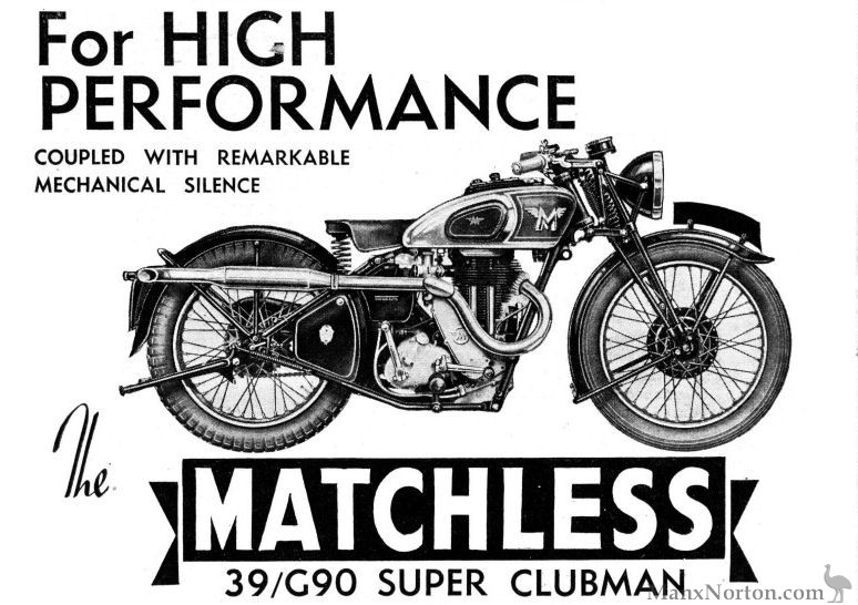Matchless 1939 G80