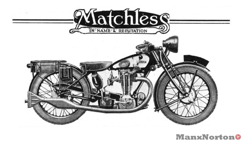 Matchless 1929 Model R3