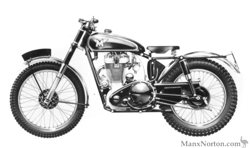 Matchless AJS Trials