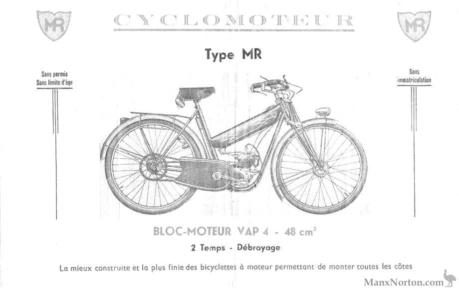 MR 48cc VAP 4 ca 1945-1959