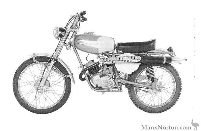 Muller 1956 Regolarita 50cc Sachs