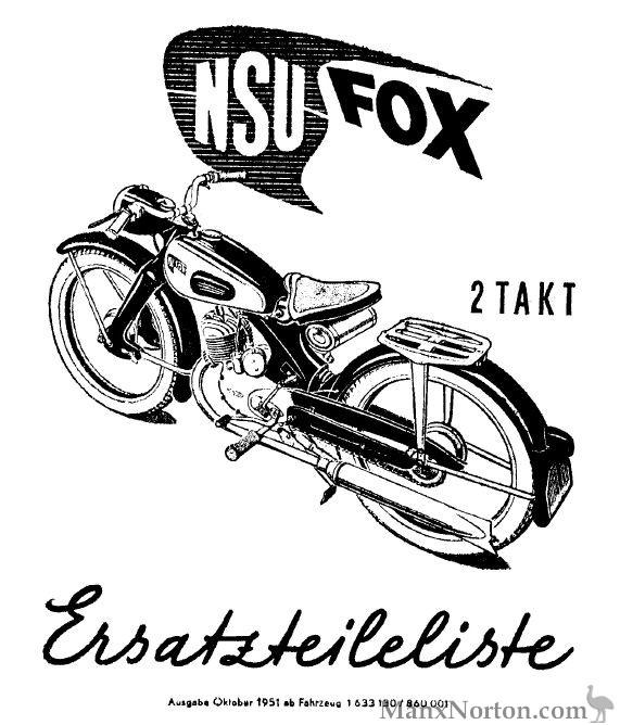 NSU 1951 Fox