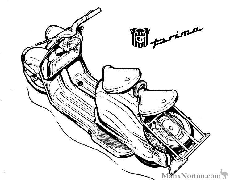 NSU Prima Scooter
