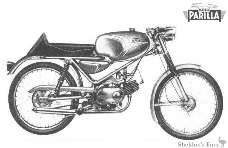 Parilla 1964 49cc GS