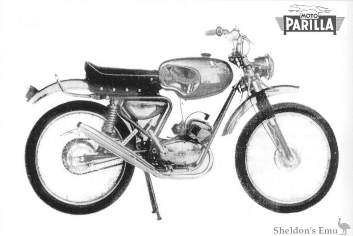Parilla c1964 49cc Cross