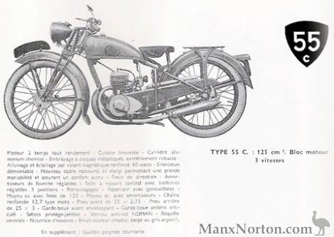 Peugeot 1948 Type 55C