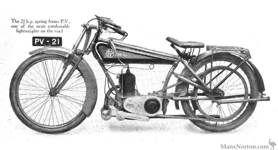PV 269cc Villiers 1921
