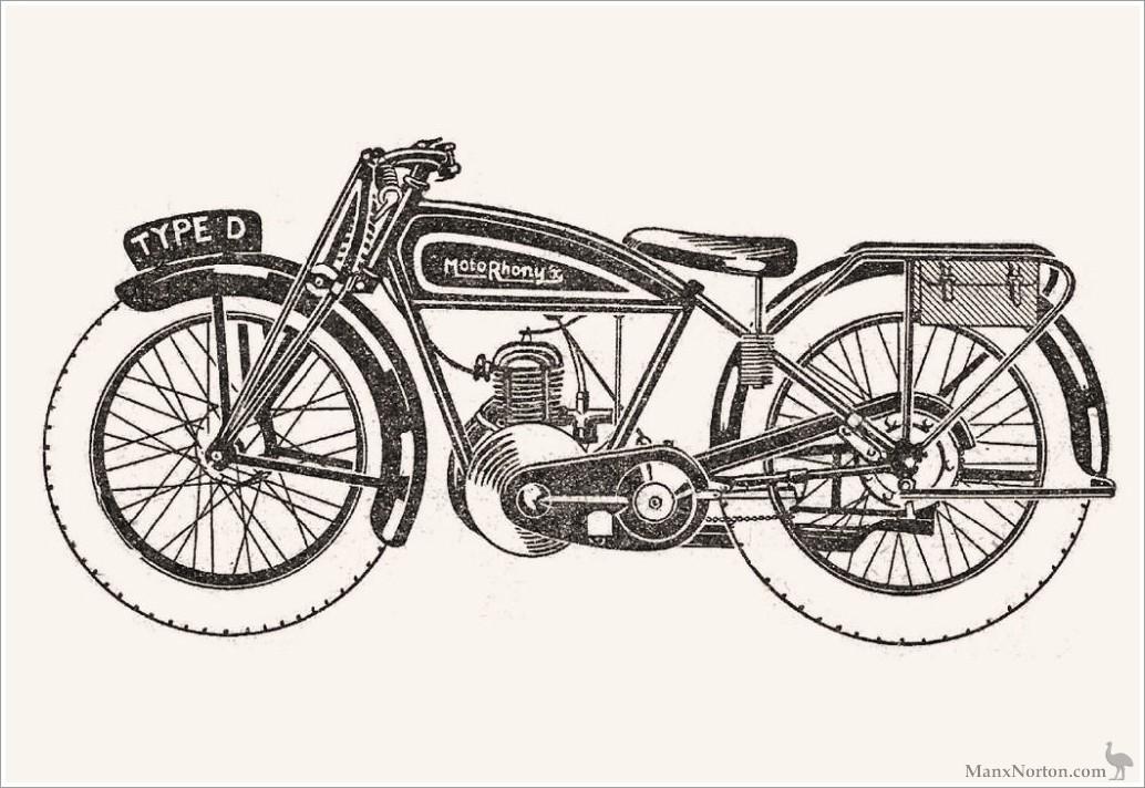 Rhony'x 1924 Type D 250cc circa 1924