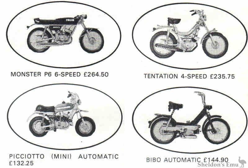 Romeo Motorcycles 1975