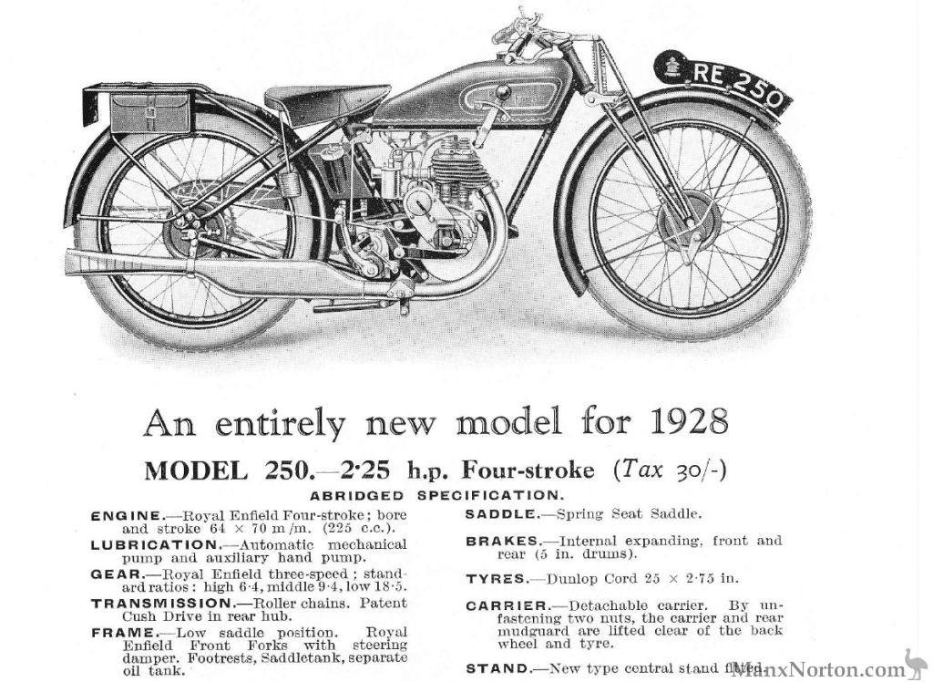Royal Enfield 1928