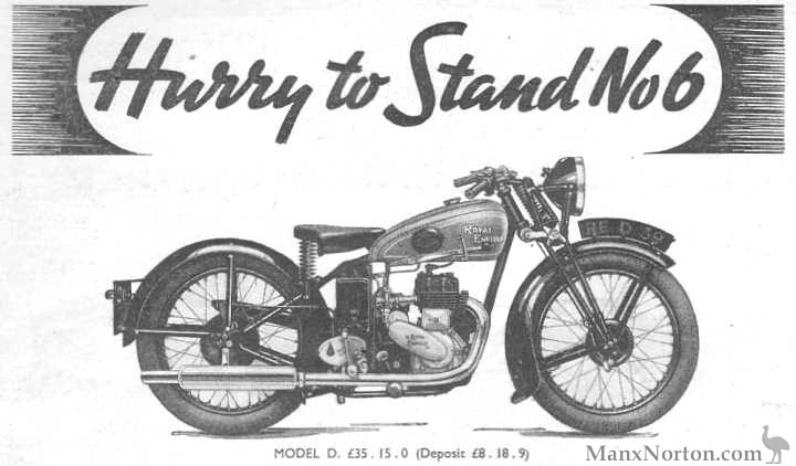 Royal Enfield 1938 Model D