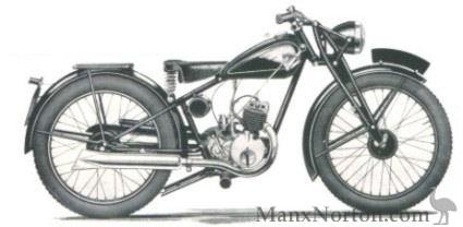 Royal Enfield 125cc 1946