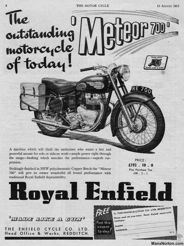 Royal Enfield 1953