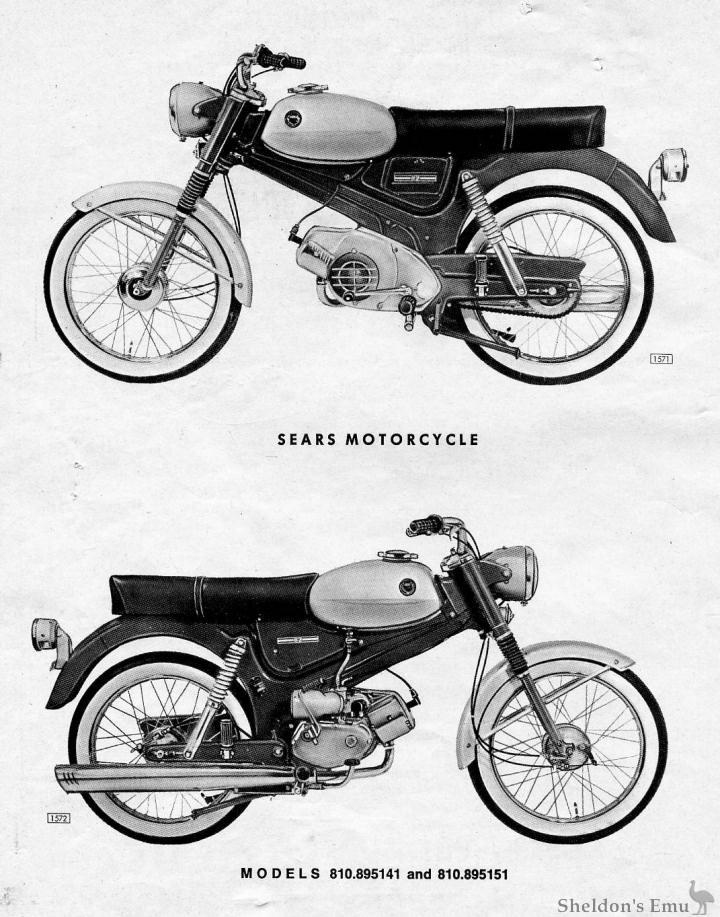 Puch 1968 50cc Manual