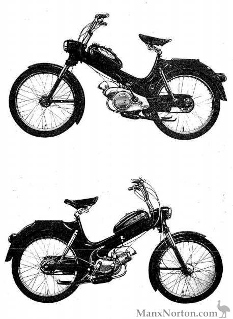 Allstate Moped 810-94011 c1960