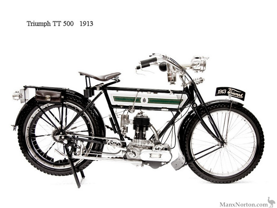 Triumph 1913 TT500 RHS