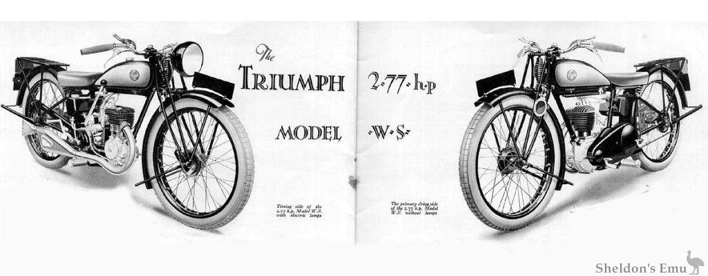 Triumph Model WS 2.77hp