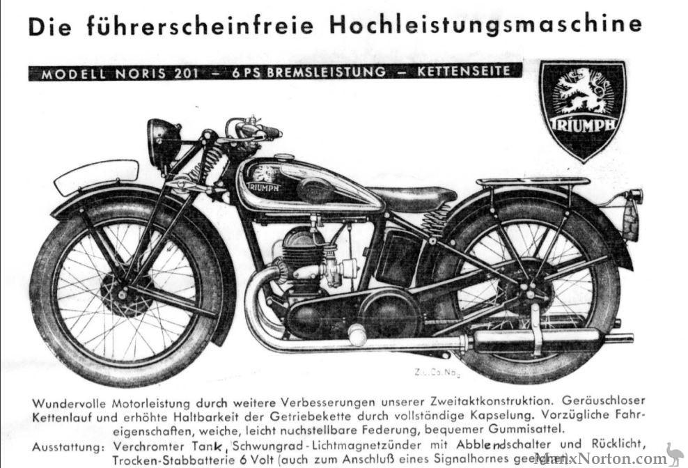 TWN Triumph Noris 201 1934
