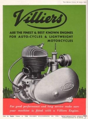 Villiers 1950 Advertisement