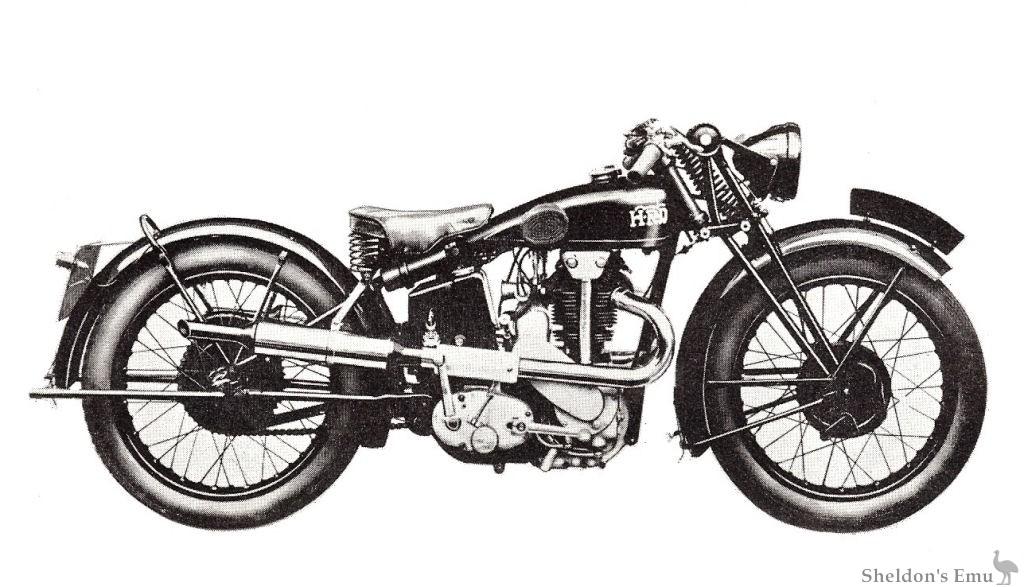 Vincent 1932 Python Sport 500cc