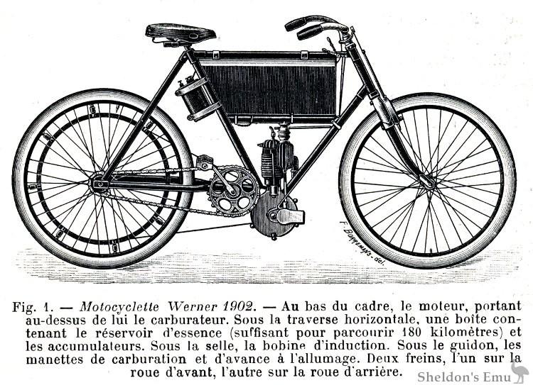 Werner Motocyclette 1902