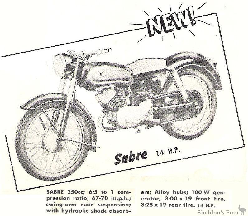 Zundapp Sabre 1956