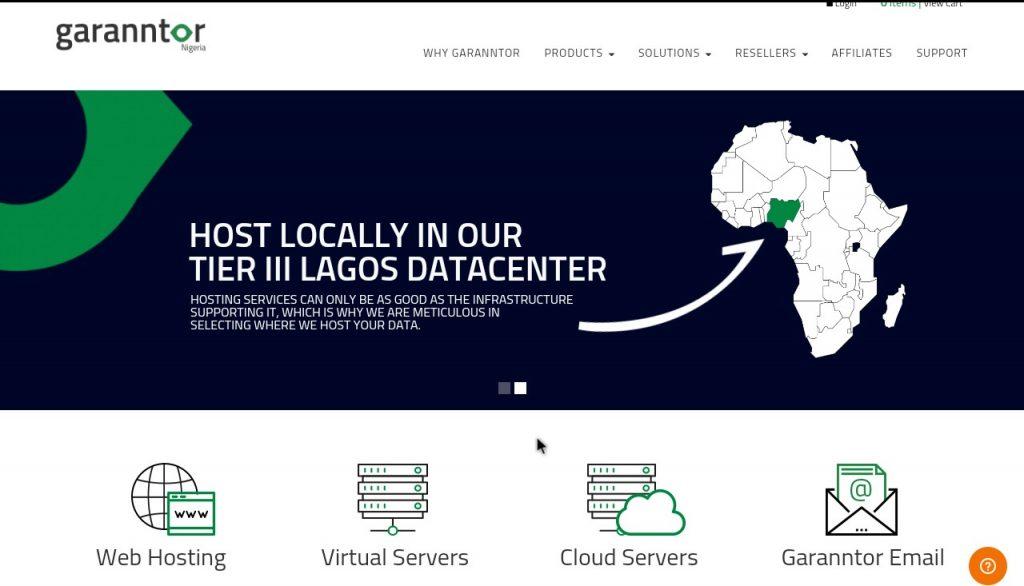garanntor homepage website